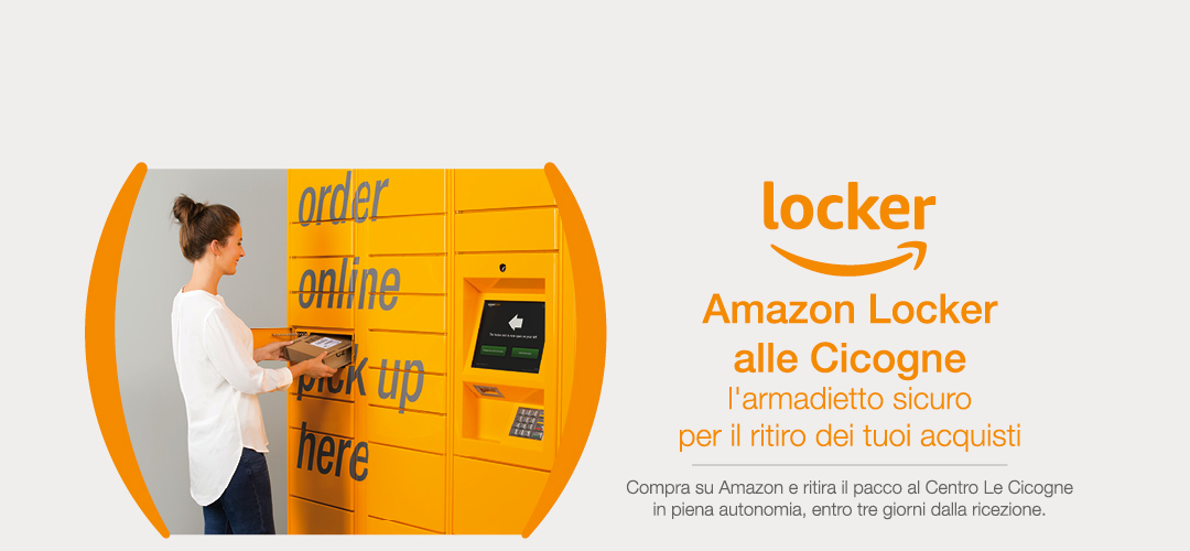 Amazon Locker alle Cicogne di Faenza
